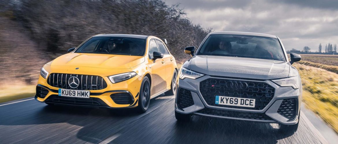 Four hundred horsepower? In a hatchback? Time to see if the Germans really have lost their marbles