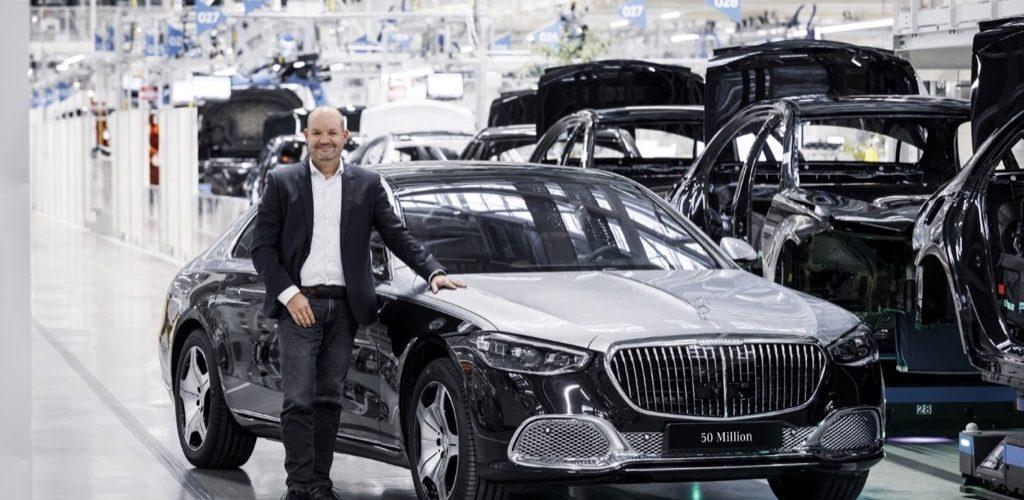 Ορόσημο 50 εκατομμυρίων αυτοκινήτων από τη Mercedes-Benz